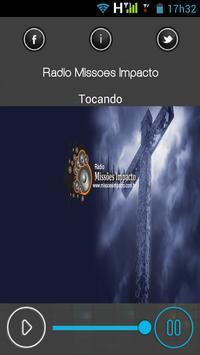 Rádio Missões Impacto poster