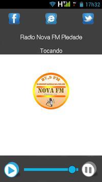 Poster Rádio Nova FM Piedade