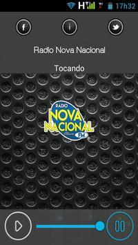 Rádio Nova Nacional poster
