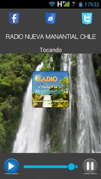 RADIO NUEVA MANANTIAL CHILE poster