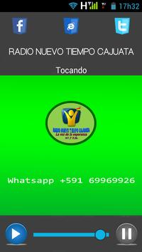 Radio Nuevo Tiempo Cajuata screenshot 2