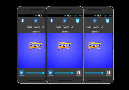 Rádio Prayana FM screenshot 1