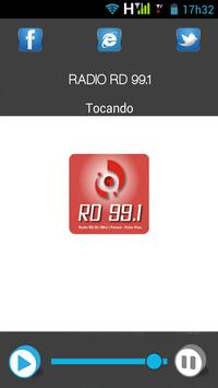 RADIO RD 99.1 poster