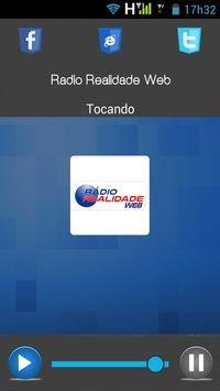 Rádio Realidade Web apk screenshot