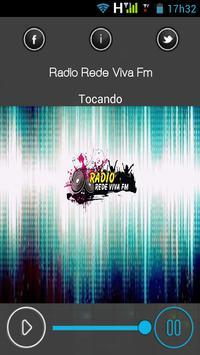 Radio Rede Viva Fm apk screenshot