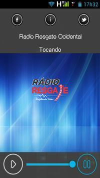 Rádio Resgate Ocidental apk screenshot