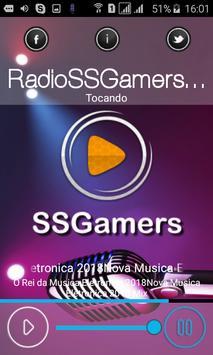 Radio SSGamers poster