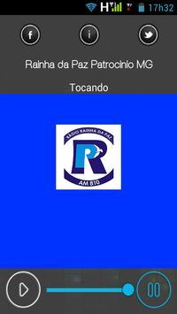 Rainha da Paz Patrocínio MG - Futebol - Rádio AM screenshot 2