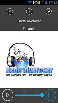 Rede Alvorecer poster