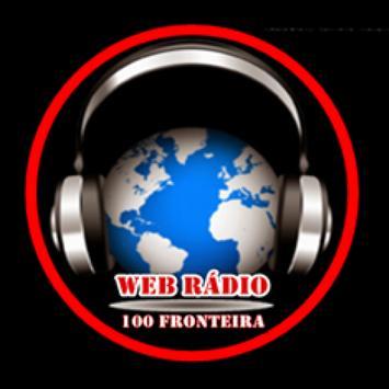 Web Radio 100fronteira poster