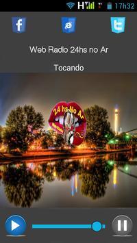 Web Rádio 24hs no Ar. apk screenshot