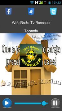 Web Rádio TV Renascer apk screenshot