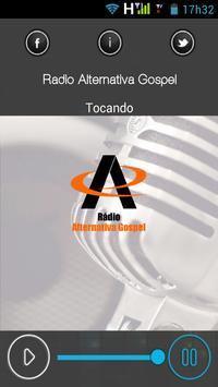 Rádio Alternativa Gospel apk screenshot