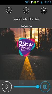 web Radio Brazilian screenshot 1