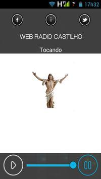 web radio castilho poster