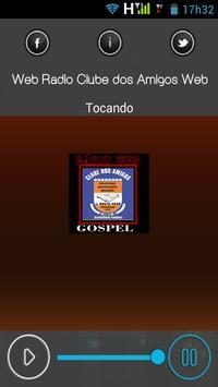 Web Rádio Clube dos Amigos Web apk screenshot