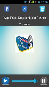 Web Rádio Deus é o Nosso Refúgio apk screenshot