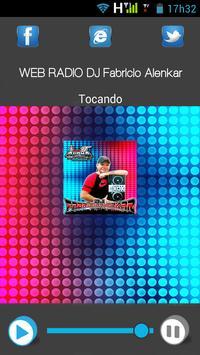 Web Rádio Dj Fabricio Alenkar poster