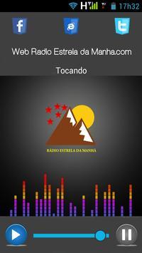 Web Rádio Estrela da Manhã.com poster