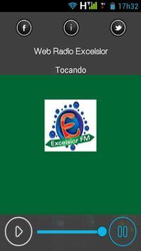 Web Rádio Excelsior apk screenshot