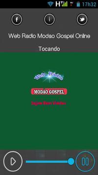 Web Rádio Modão Gospel Online poster