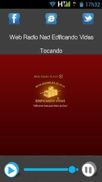 Web Radio Nad Edificando Vidas screenshot 1