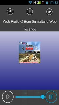 Web Rádio O Bom Samaritano Web apk screenshot