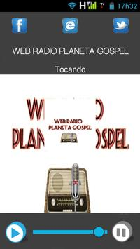 Webradio Planeta Gospel apk screenshot