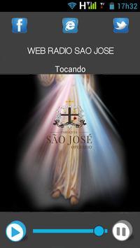 web rádio São José poster