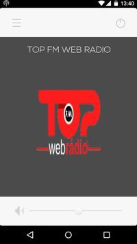 TOP FM WEB RÁDIO poster