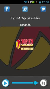 Top FM Cajazeiras Piauí poster