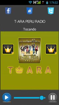 T-ARA PERU RADIO poster