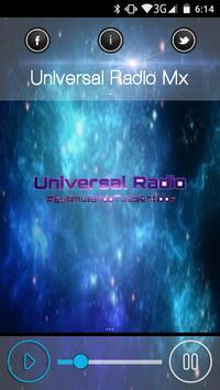 Universal Radio Mx poster