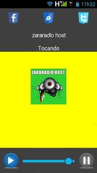 Zararadio Host apk screenshot