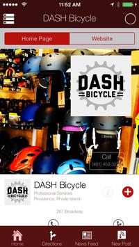 DASH Bicycle poster