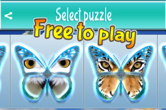 Guess Butterfly Puzzle apk screenshot