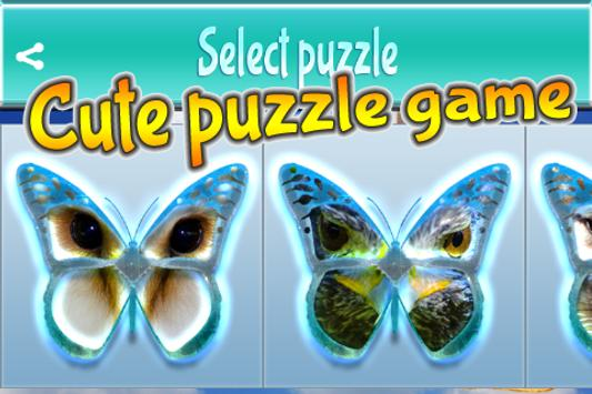 Guess Butterfly Puzzle poster