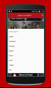 free netflix movie/serie tips poster