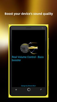 Volume Control - Bass booster poster