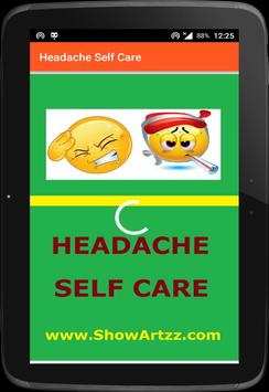Headache: Headache Care screenshot 1