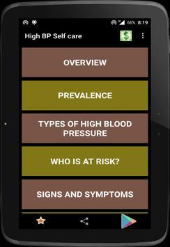 High Blood Pressure screenshot 4