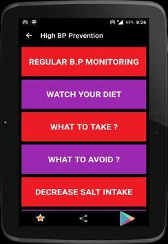 High Blood Pressure screenshot 5