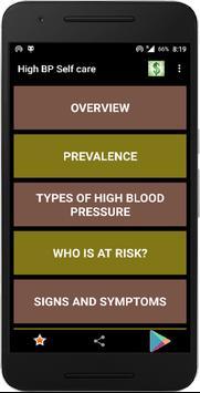 High Blood Pressure screenshot 1