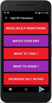 High Blood Pressure screenshot 2