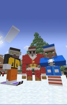 Skin Minecraft Wallpaper HD Poster