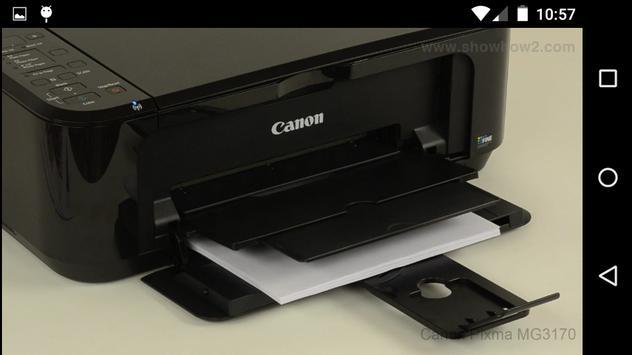 Showhow2 for Canon PixmaMG3170 apk screenshot