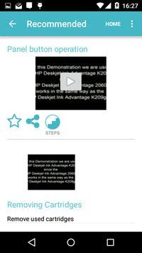 Showhow2 for  HP DeskJet 2060 apk screenshot