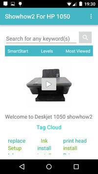 Showhow2 for HP DeskJet 1050 poster