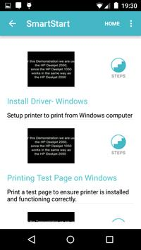 Showhow2 for HP DeskJet 1050 screenshot 1