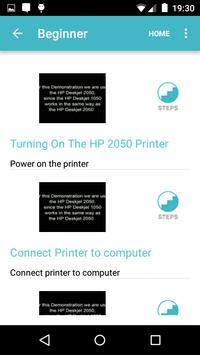 Showhow2 for HP DeskJet 1050 screenshot 2